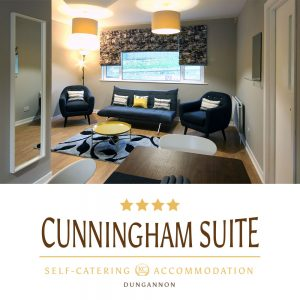 Cunningham Apartment - Dungannon. Self-catering Holiday Rental. Excelent business accommodation in NI.