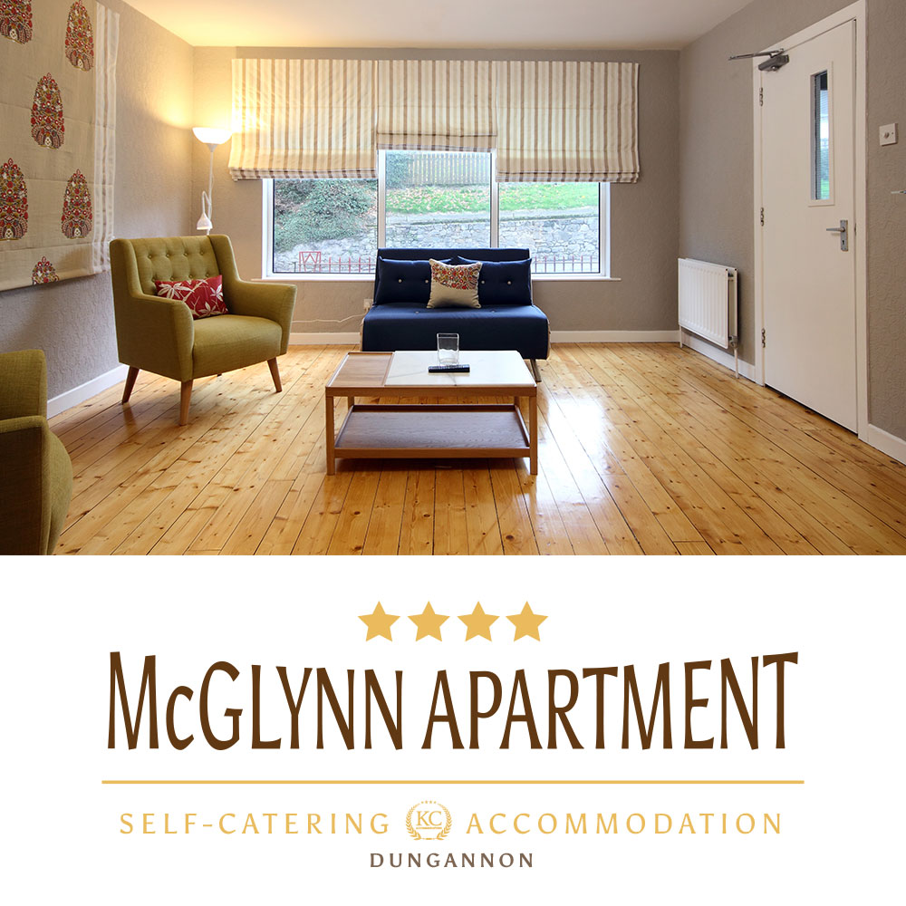 Visit McGlynn Apartment - luxury, self catering accommodation in Northern Ireland.